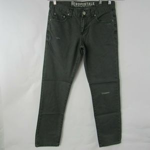 Aeropostale JeansBowery Slim Straight Button Fly